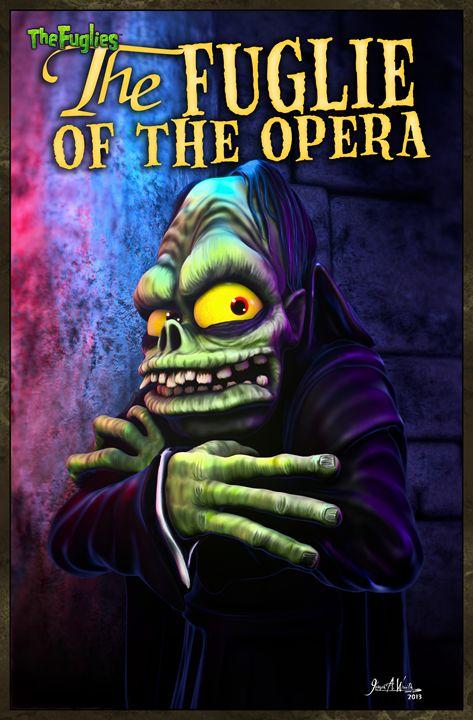 The Fuglie of the Opera - The Art of Joseph Alexander Wraith