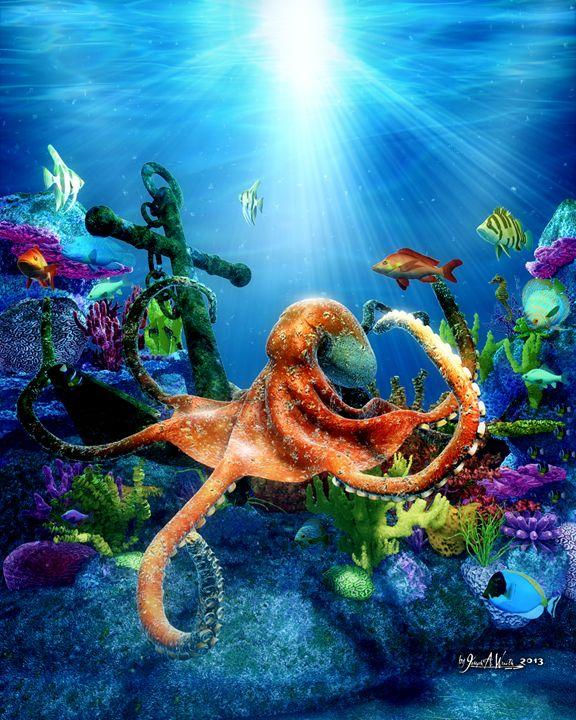Octopus' Garden - The Art of Joseph Alexander Wraith