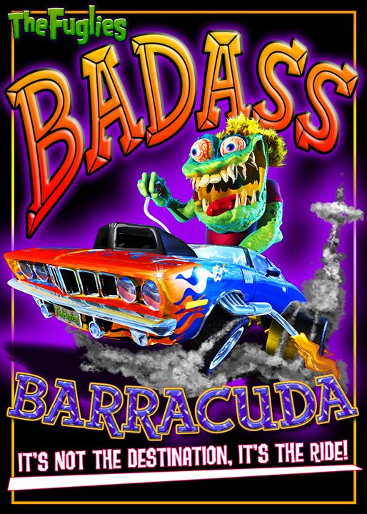 The Fuglies: BadAss Barracuda - The Art of Joseph Alexander Wraith
