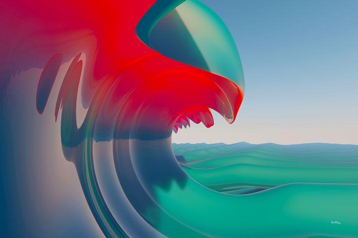 Hot Wave - The Art of Joseph Alexander Wraith
