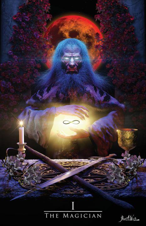 The Magician - The Art of Joseph Alexander Wraith