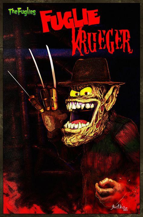Fuglie Krueger - The Art of Joseph Alexander Wraith