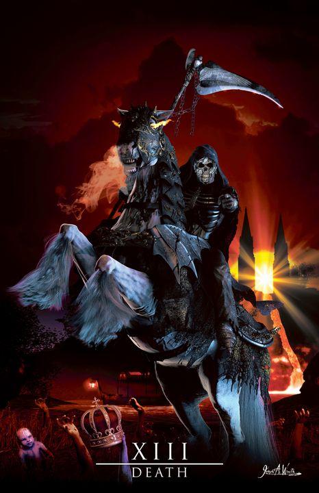 Death - The Art of Joseph Alexander Wraith - Digital Art, Religion