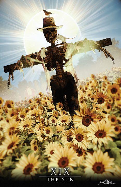 The Sun - The Art of Joseph Alexander Wraith