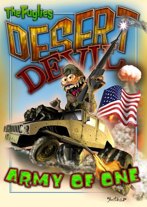 The Fuglies: Desert Devil - The Art of Joseph Alexander Wraith