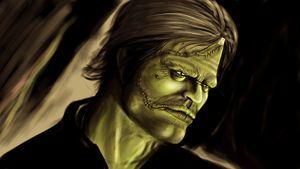 Frankenstein Burning