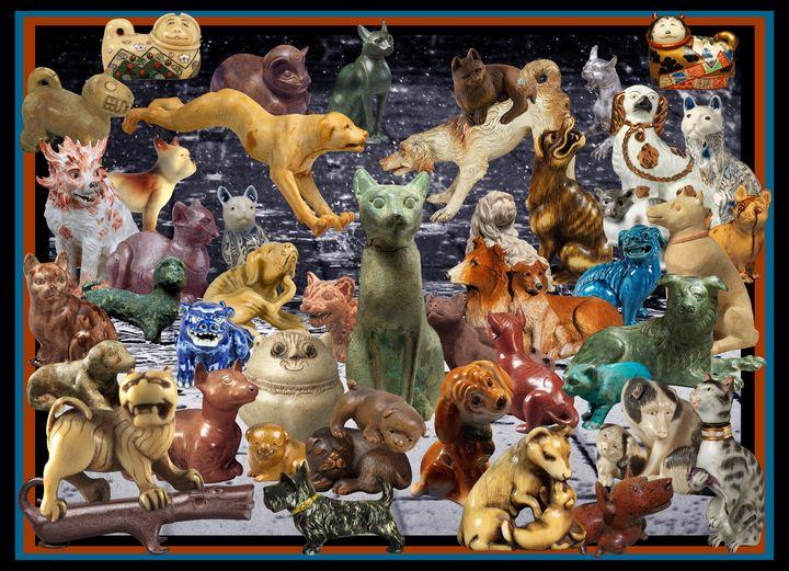 Cats 'n' Dogs - Broek Wolften Creations