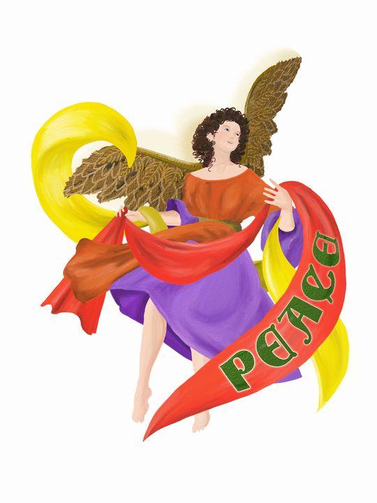 Peace Angel - Broek Wolften Creations