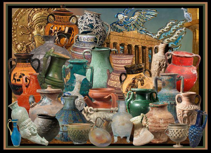 Amphora Euphoria - Broek Wolften Creations