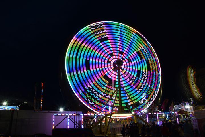 Ferris Wheel Vortex 2 - NATURE WORKS