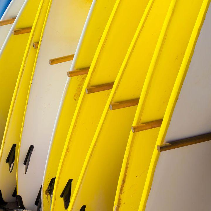 le surf jaune - jsebouvi