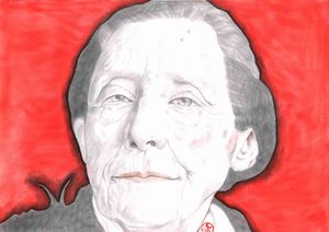Portrait of Louise Bourgeois