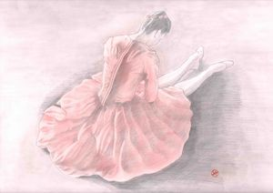 Ballerina at rest