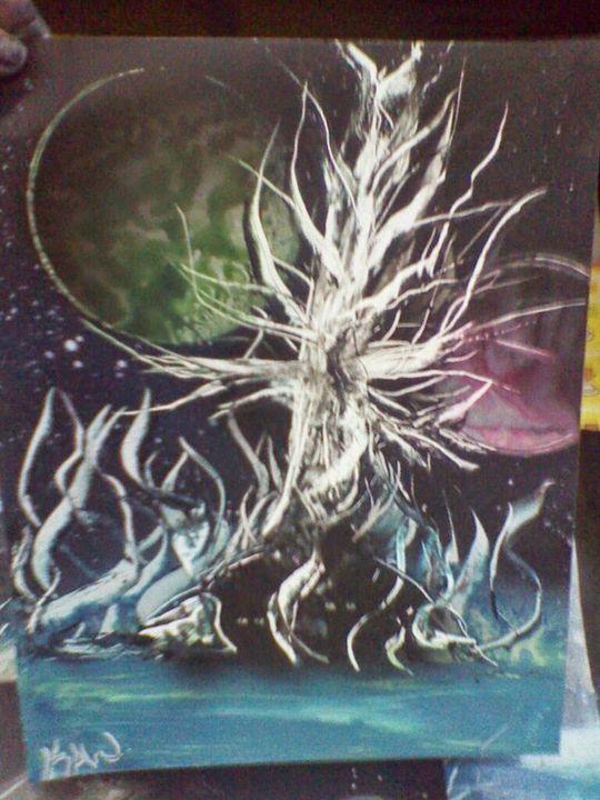 INTERGALACTIC TREE OF LIFE - Keribleu Art