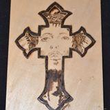 Jesus' Face on a Cross