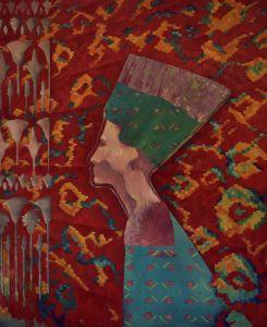 MYTH-XIV. EGYPT 110*90 cm, original - Marina Venediktova