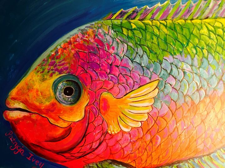 Fish with Scales - SOLD - Patrycja Hauer-Ivey