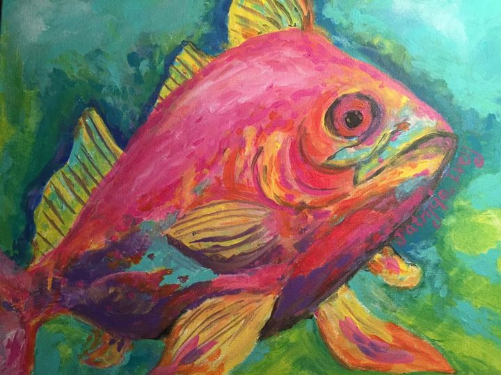 Red Snapper - SOLD - Patrycja Hauer-Ivey