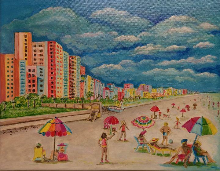 Beach Leisure - SOLD - Patrycja Hauer-Ivey
