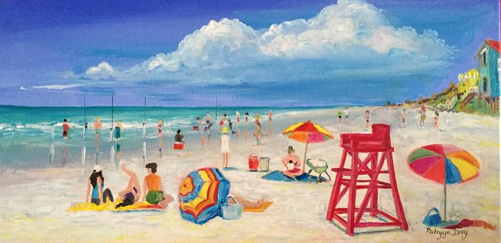 At the Beach in New Smyrna - Patrycja Hauer-Ivey