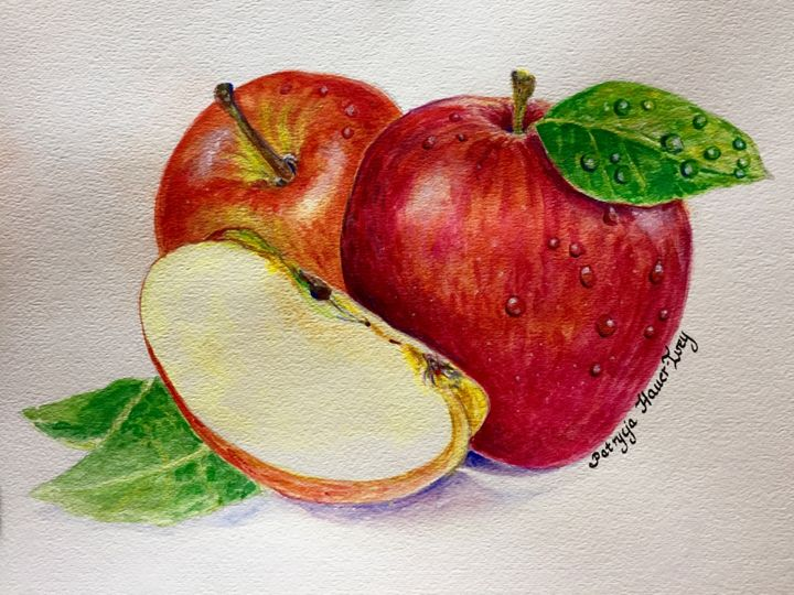 Apples - SOLD - Patrycja Hauer-Ivey