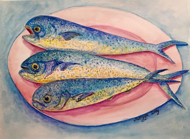 Fish Platter - Patrycja Hauer-Ivey