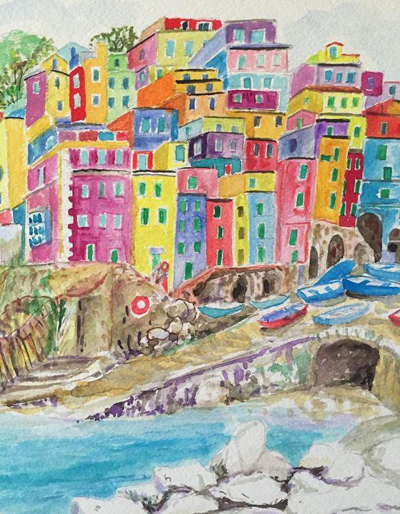 Riomaggiore - Patrycja Hauer-Ivey