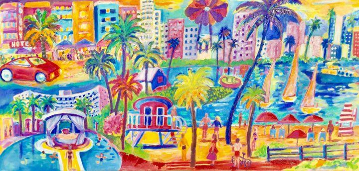 Miami Beach - Patrycja Hauer-Ivey