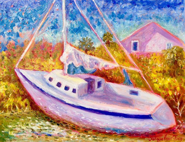 Stranded Ship - Patrycja Hauer-Ivey