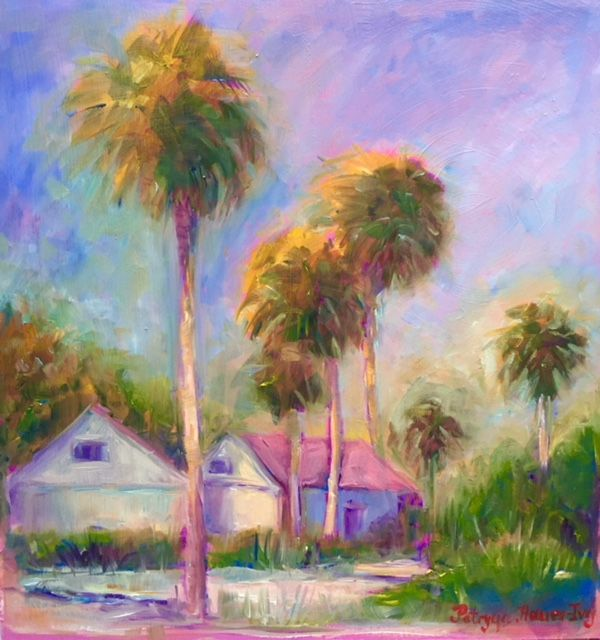 Sunset in a little Town in Florida - Patrycja Hauer-Ivey