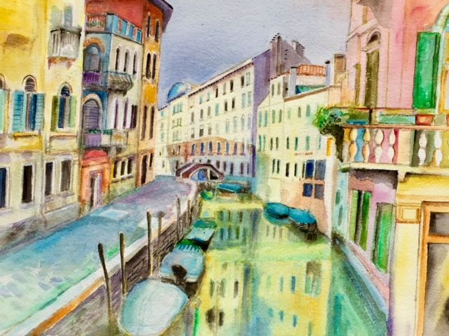 Canal in Venice - Patrycja Hauer-Ivey