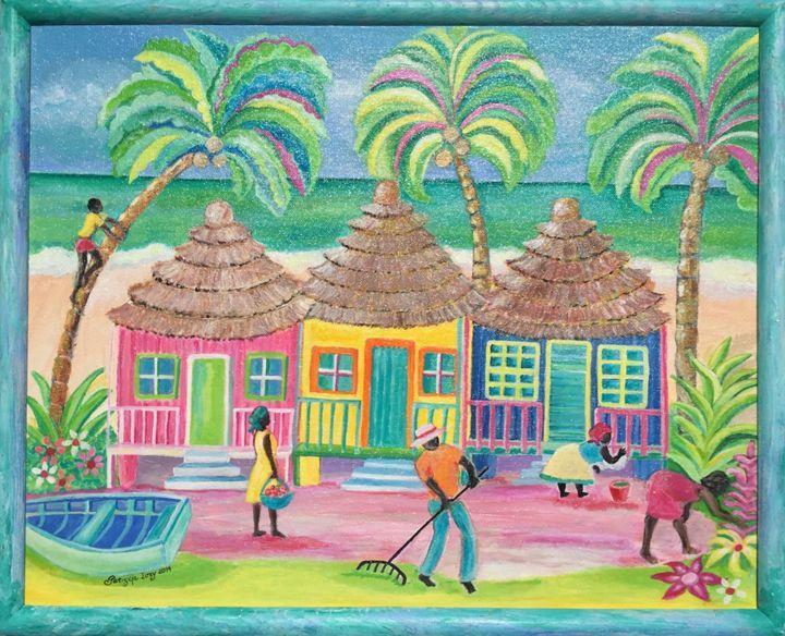 Caribbean Village - Patrycja Hauer-Ivey