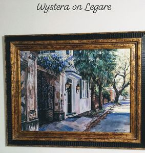 Westeria on Legare - Gordon Wheeler Paintings