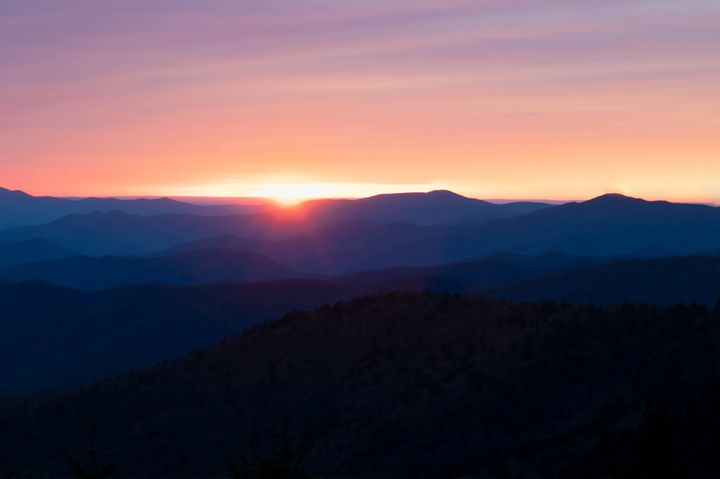 Sunset at the Smokies - Rylan's Amazing Photography