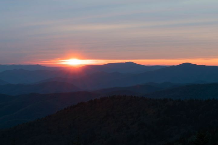 Smoky Mountains at Sunset - Rylan's Amazing Photography