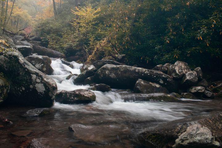 Waterfall in Gatlinburg Tennessee - Rylan's Amazing Photography