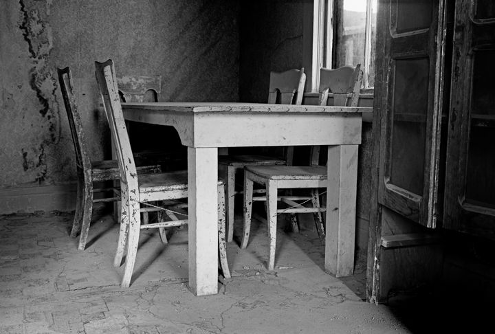 Old Table Bodie California - Steve Gadomski