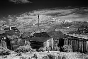 Rooflines Bodie California - Steve Gadomski