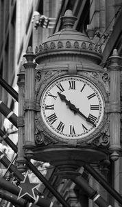 Fields Clock BW