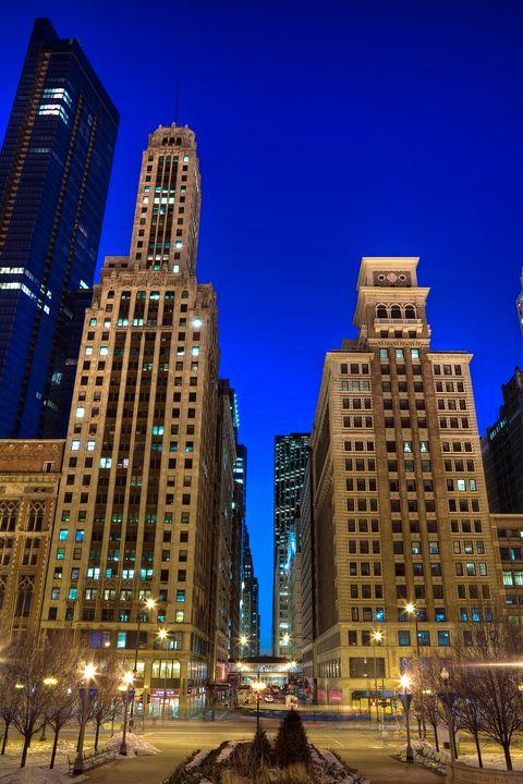 Chicago City Canyon - Steve Gadomski