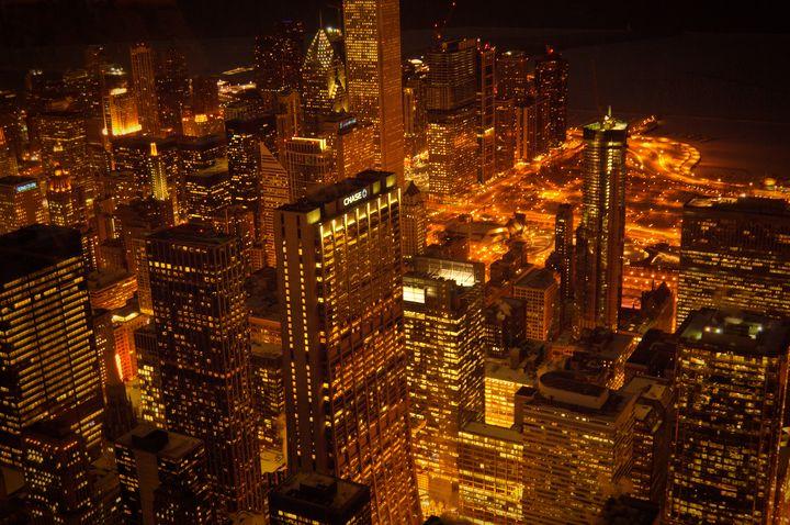 Chicago City Lights - Steve Gadomski