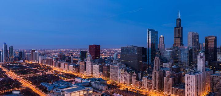 Chicago Dawn - Steve Gadomski