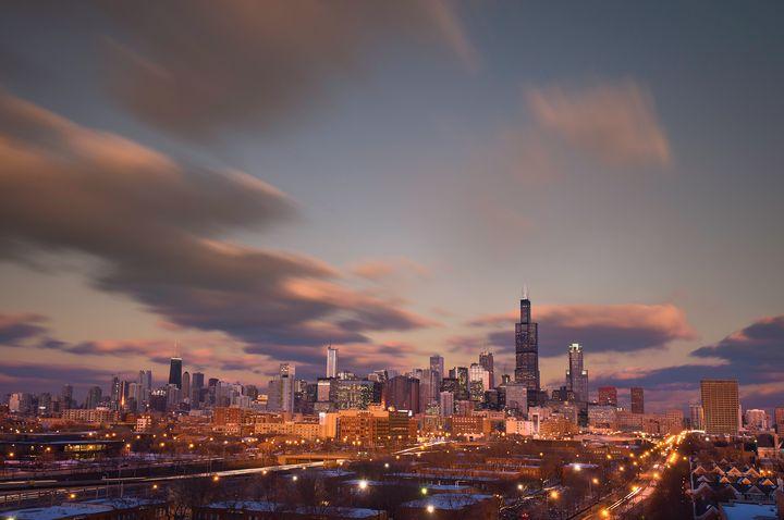 Chicago Dusk - Steve Gadomski