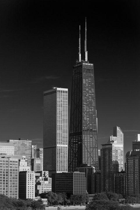Photograph of Chicago, Illinois skys - Steve Gadomski
