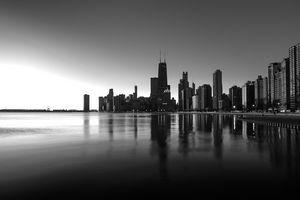 Chicago Lakefront Dawn - Steve Gadomski