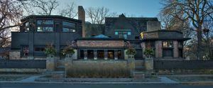 Frank Lloyd Wright Home and Studio O