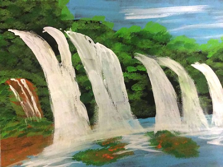 Waterfall - CreativeArt