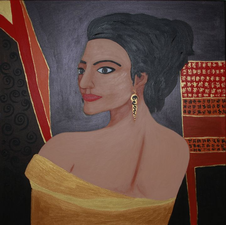 Lady in Gold - EVArt