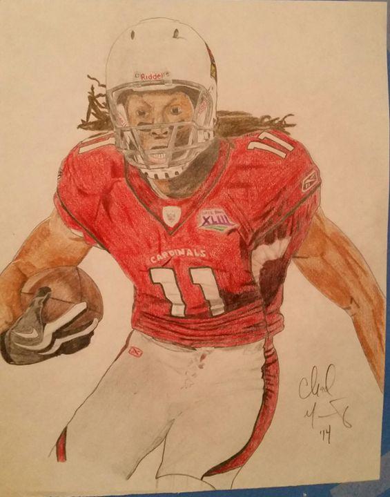 Larry Fitzgerald Arizona Cardinals - Sportistry Professional Artwork
