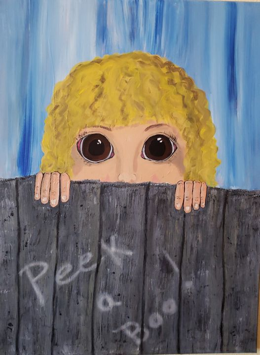 Peek-A-Boo - Creations Fine Art